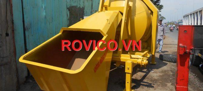 Bán máy trộn bê tông HD750 lít đi Bình Phước