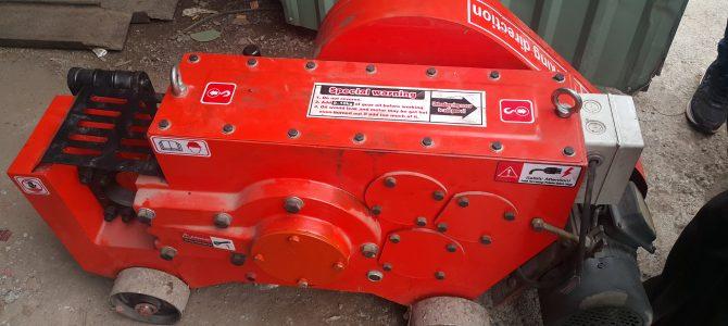 Đơn hàng máy uốn sắt GW50, máy cắt GQ40 giao cho công trình hóc môn