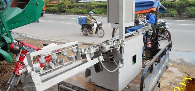 Phương thức bảo quản máy bẻ đai sắt tự động