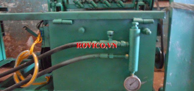 Kết cấu và nguyên lý vận hành của máy bẻ đai thép tự động