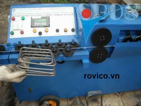 Phân phối máy bẻ đai sắt tự động giá sỉ