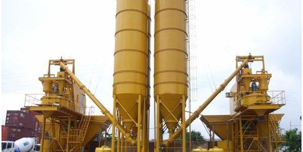 Trạm trộn bê tông và nguyên tắc hoạt động như máy trộn bê tông