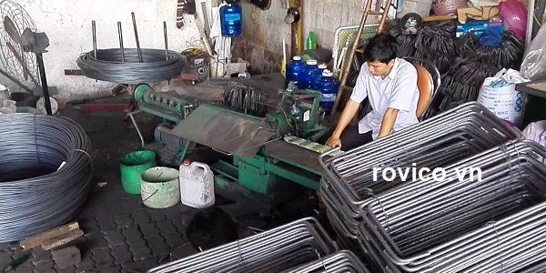 Trình làng máy uốn đai thép auto rồng việt