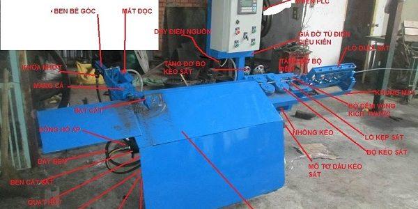 Cung ứng máy uốn đai sắt tự động phi 8