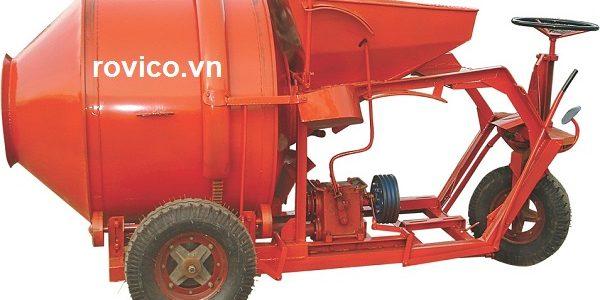 Chế tạo máy trộn bê tông tự hành 350l