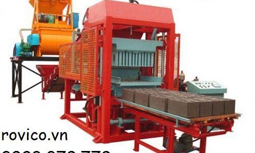 Những bước bằng máy ép gạch ko nung cung ứng tự động