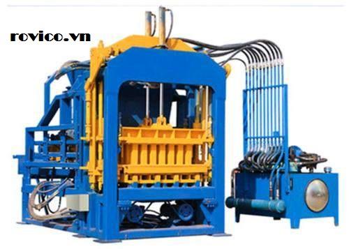 Đặc điểm của máy ép gạch tự động Rồng Việt