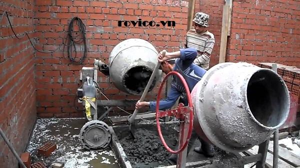 Cung cấp máy trộn bê tông 350 lít giá sỉ TPHCM