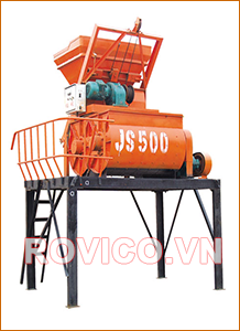 So sánh máy trộn bê tông JS và JZC